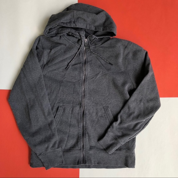 65a8cb579ec4 Champion Other - MODERN PLAIN GREY FULL ZIP CHAMPION HOODIE